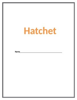 Hatchet Unit Workbook