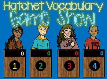 Hatchet Vocabulary Jeopardy Style Game Show