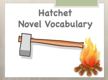 Hatchet Vocabulary Powerpoint Bundle Pack