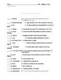 Hatchet Vocabulary Pretest