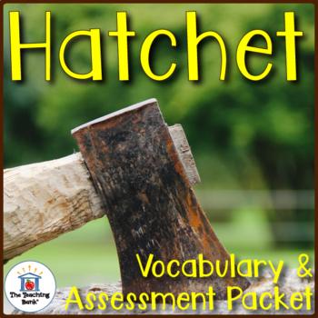 Hatchet Vocabulary and Assessment Bundle