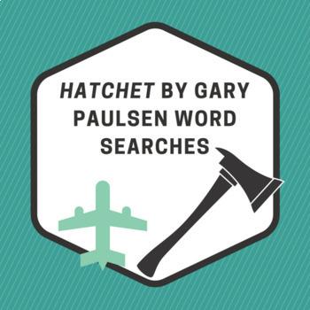 Hatchet Word Searches BUNDLE