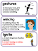ReadyGen Hatchet Word Wall / Vocabulary Cards /5th Grade Unit 1