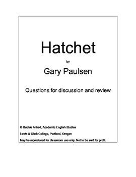 Hatchet Workbook to Accompany