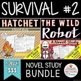 Hatchet and The Wild Robot: Survival Novel Study Unit Bundle