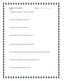 """""""Hatchet"""", by G. Paulsen, Complete Literature Unit, 74 Total Pages"""