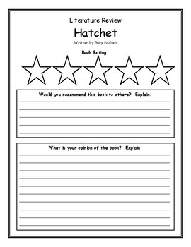 Hatchett book report marine biology essays
