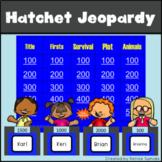 Hatchet by Gary Paulsen Jeopardy