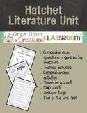 Hatchet by Gary Paulsen Literature Unit