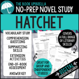 Hatchet Novel Study - Distance Learning - Google Classroom compatible