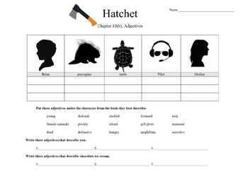 Hatchet by Gary Paulsen Novel Study Language and Reading Bundle