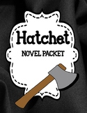 Hatchet by Gary Paulsen- Novel Study Unit Bundle
