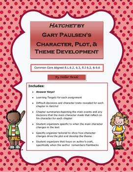 Hatchet by  Gary Paulsen's  Character, Plot, & Theme Development
