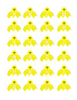 Hatching Alphabet