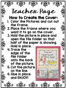 Hatching Chickens... A Lapbook Activity