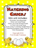 Hatching Chicks - A Chick Life Cycle Mini-Unit for First G