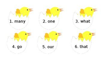 Hatching Chicks Write the Room
