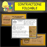 Contractions Interactive Booklet