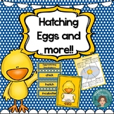 Hatching Eggs - Diary, Vocabulary and Suggested Reading