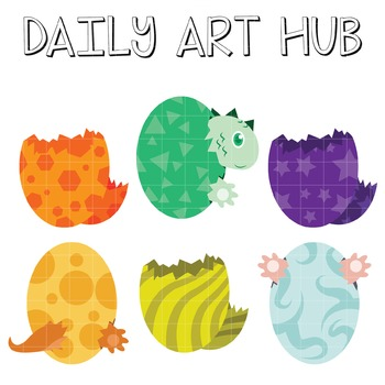 Hatching Eggs Art - Great for Art Class Projects!