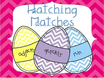 Hatching Matches - a parts of speech matching game