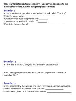 Hate That Cat Novel Study