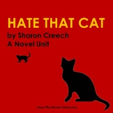 Hate That Cat Novel Unit