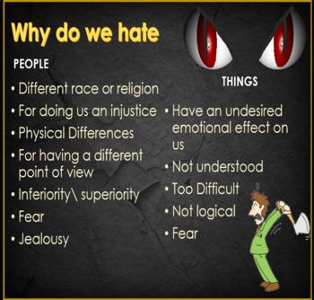 Hate makes the world go round - ESL adult & kid conversation