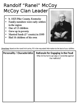 Hatfield & McCoy / Coffin Quilt Workbook