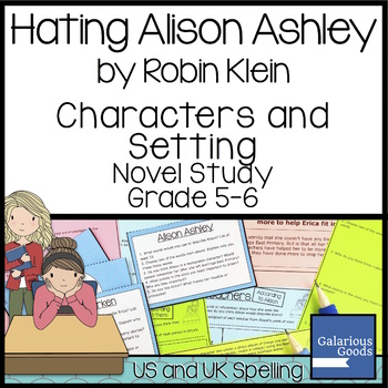Hating Alison Ashley Characters and Setting
