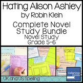 Hating Alison Ashley Novel Study Bundle