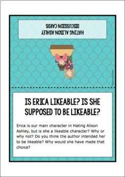 Hating Alison Ashley Novel Study Sample Pack
