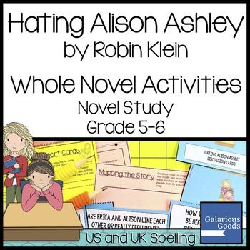 Hating Alison Ashley Whole Novel Activities