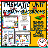 THEMATIC UNIT:  Integrated Curricula, Math, ELA, HOTS, Creativity, Hats
