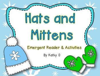 Hats & Mittens -- Emergent Reader Bundle