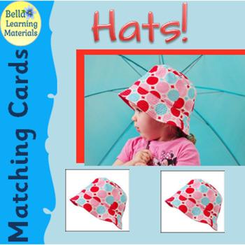 Montessori Classified Cards - Hats
