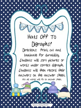 Hats Off to Diagraphs