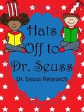 Hats Off to Dr. Seuss (Dr. Seuss Research)