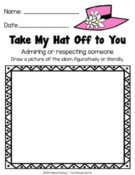 Hats Off to Idioms {Figurative Language}