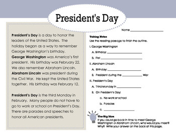 Hats Off to President's Day: Mobile Project