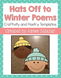 Hats Off to Winter Poems {FREEBIE}