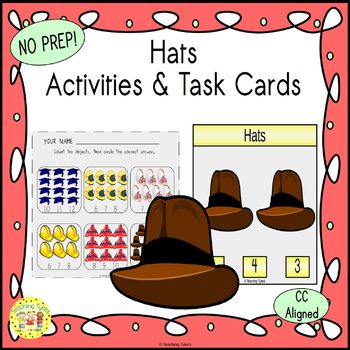 Hats Worksheets Activities Games Printables and More