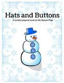 Symbol Adapted Winter Themed Book