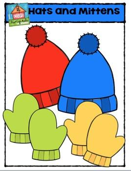 Hats and Mitts {P4 Clips Trioriginals Digital Clip Art}