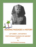 Hatshepsut:First Female PHARAOH of Ancient Egypt(Reading Passage)