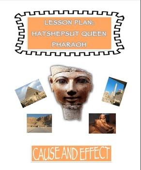 Hatshepsut Queen Pharaoh Lesson Plan and Prezi