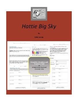 Hattie Big Sky Complete Literature and Grammar Unit