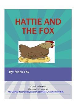 Hattie and the Fox Reader's Theater Mem Fox, Common Core Aligned
