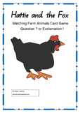 Hattie and the Fox (by Mem Fox) Matching card game