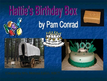 Hattie's Birthday Box Anticipation Guide